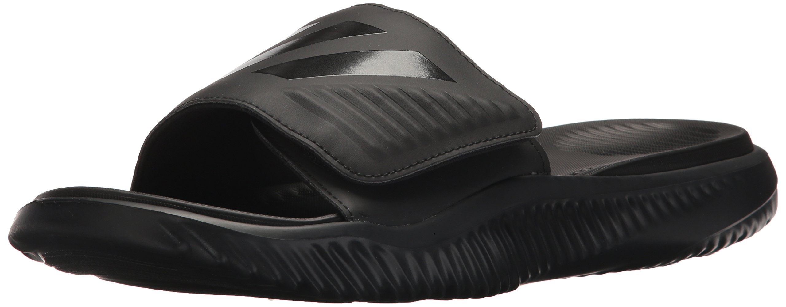 adidas Men's Alphabounce Slide Sport Sandal Black, 10 M US