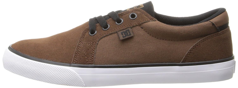 DC Shoes Council SD - Zapatillas Bajas Para Hombre, Color Marrón Oscuro, Talla 42 L