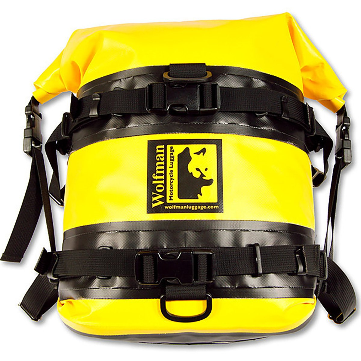 Wolfman Expedition Dry Saddle Bags Yellow