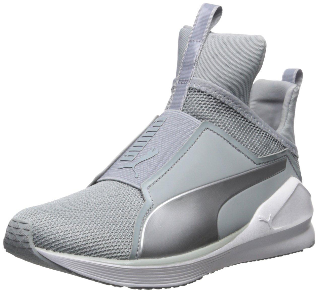 Puma Fierce Core, Zapatillas de Deporte para Mujer 37.5 EU|Quarry/Puma White/Polyurethane