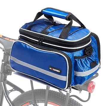 dce2f949c59 Selighting Bolsa Alforja Trasera Bicicleta Impermeable Bolso de Viaje  Portátil Extensible Bolsa de Hombro para Ciclismo al Aire Libre 10L-25L:  Amazon.es: ...