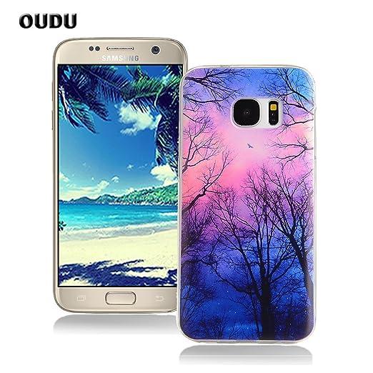 16 opinioni per OuDu Cover Samsung Galaxy S7 Custodia TPU Silicone Cassa Gomma Soft Silicone