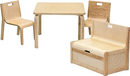 IB-Style - Conjunto infantil de mesa y sillas «Joel» | 3 variantes ...