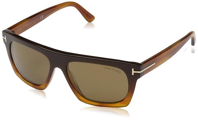 Amazon.com: Tom Ford TF592 Ernesto-02 - Gafas de sol ...