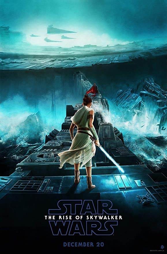Amazon Com Hotprint Star Wars The Rise Of Skywalker Movie Poster Wall Decor 18 By 28 Inches Not A Dvd Posters Prints