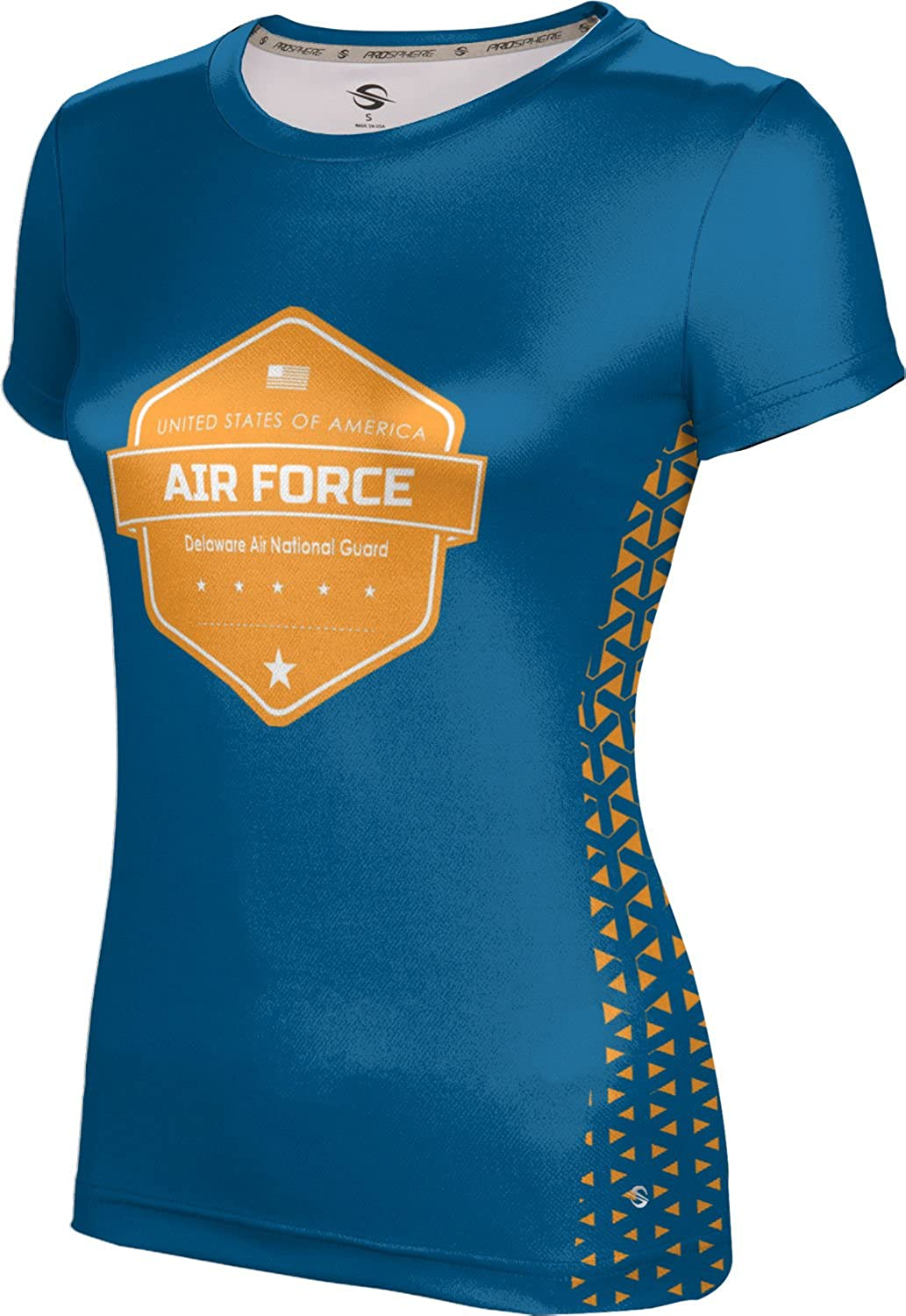 ProSphere Women's Delaware Air National Guard Military Geometric Tech Tee