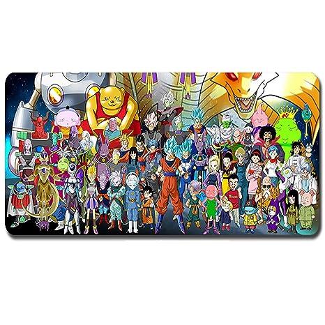 XXL Dragon Ball expande la alfombrilla de ratón para juegos ...