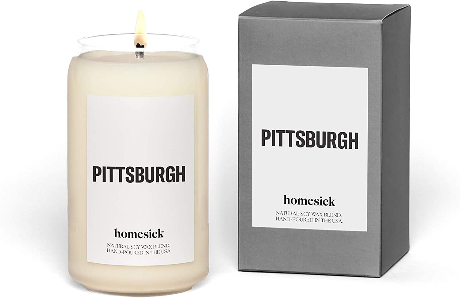 Homesick Scented Candle, Pittsburgh (2020 Version)