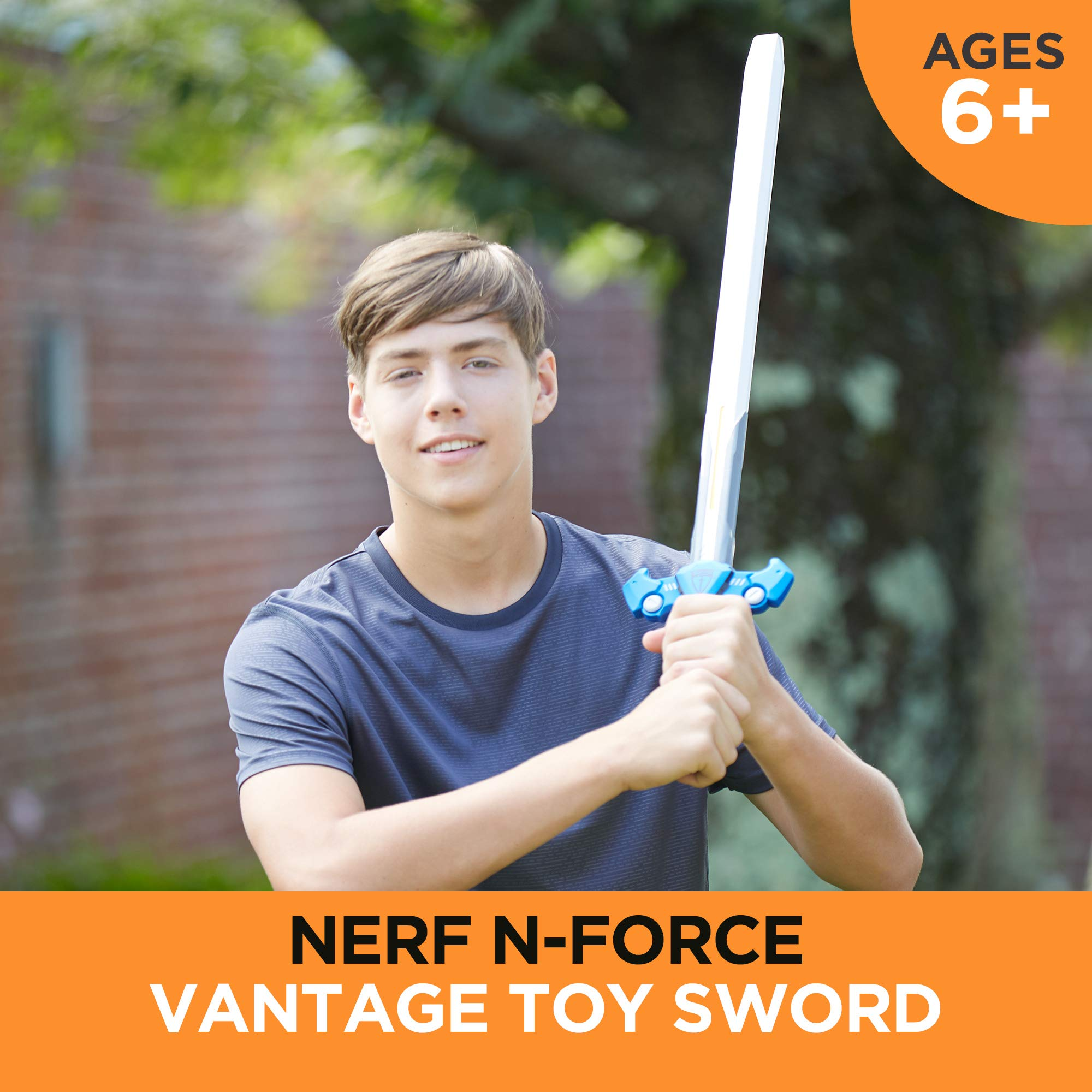 Vantage Nerf N-Force Toy Sword - 32 Inches Long - Nerf Foam Blade with Plastic Core - For Kids, Teens, Adults (Amazon Exclusive) by NERF (Image #3)