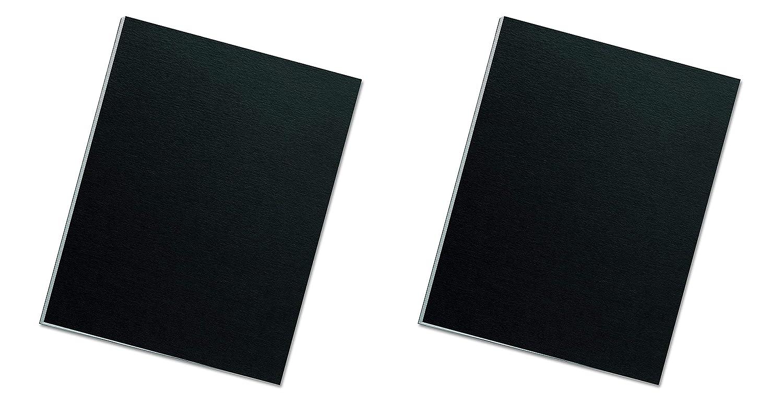 Fellowes バインディングプレゼンテーションカバー レターサイズ ブラック (5224901) 2 X Pack of 25 2 X Pack of 25  B07G7G5QJ7