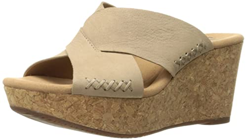 f0f0238727a Clarks Womens Annadel Danae Wedge Sandal  Amazon.ca  Shoes   Handbags