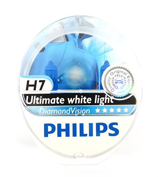 83 opinioni per Philips Diamond Vision H7 5000k potenziamento lampadine fari