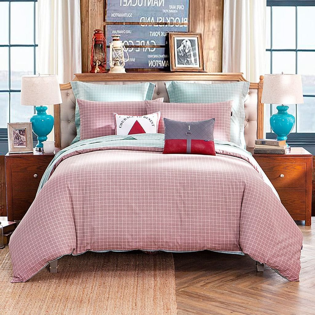 laura ashley bedding sets  ease bedding with style - lovo michelle reversible  cotton piece bedding set duvet cover flatsheet x