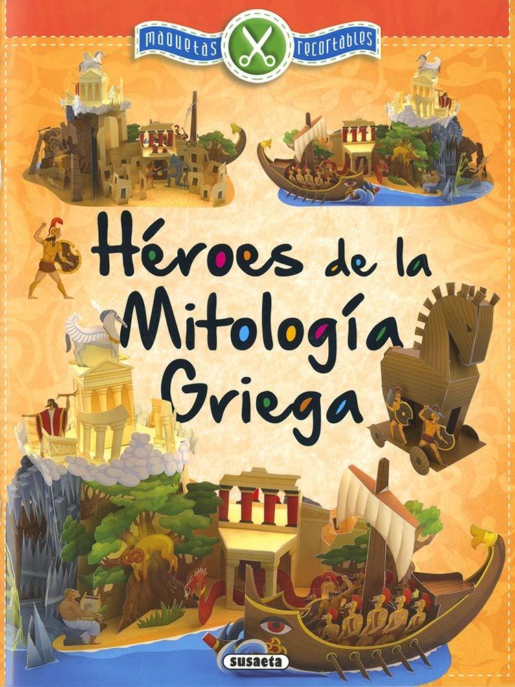 Héroes de la mitología Griega (Maquetas recortables): Amazon.es: Susaeta Ediciones S A: Libros