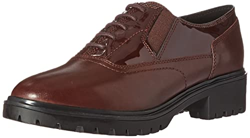 Geox Womens Wpeaceful7 Moccasin, Dark Burgundy, ...
