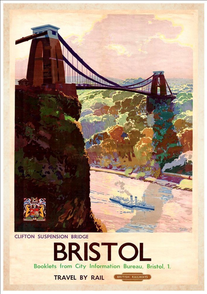 Southern Belle Brighton 018 Vintage Railway Art Poster