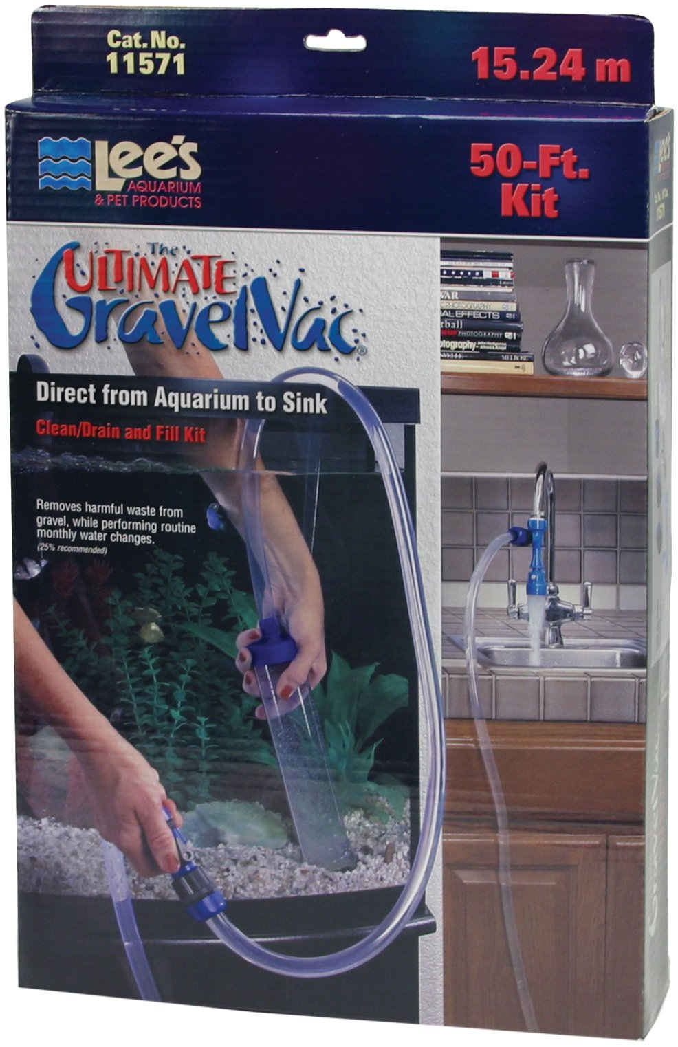 Lee's The Ultimate Gravel Vac 50' Kit by Lee's