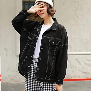 Reedbler New Spring Autumn Denim Coat Jacket Women Fashion Candy Color Bomber Jackets Loose Denim Jackets