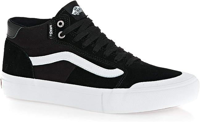 Vans Style 112 Mid Pro Shoes 43 EU Black White