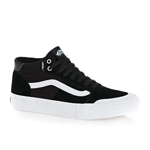 7fa79f39057f5f Vans Style 112 Mid Pro Black White  Amazon.co.uk  Shoes   Bags
