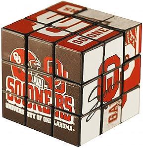 NCAA Oklahoma Sooners Toy Puzzle Cube