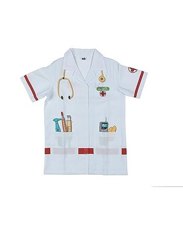 Theo Klein-4614 Bata De Médico De Alta Calidad, Juguete Multicolor (4614)