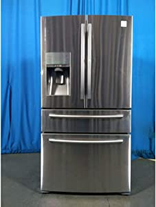 Samsung RF22KREDBSR/AA 22 cu. ft. 4-Door Bottom-Freezer Refr