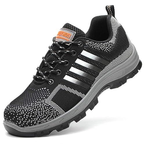 Amazon.com: Eclimb - Zapatos de seguridad para mujer con ...