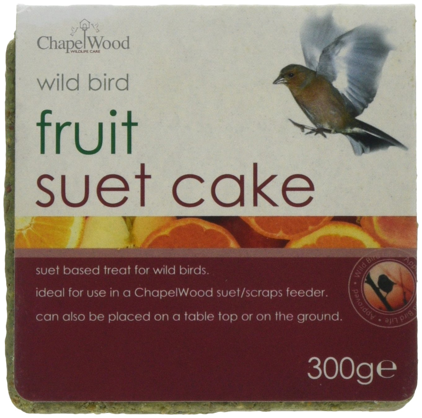 Chapelwood Fruit Bird Suet Cake Solus Garden and Leisure Ltd CPW0714