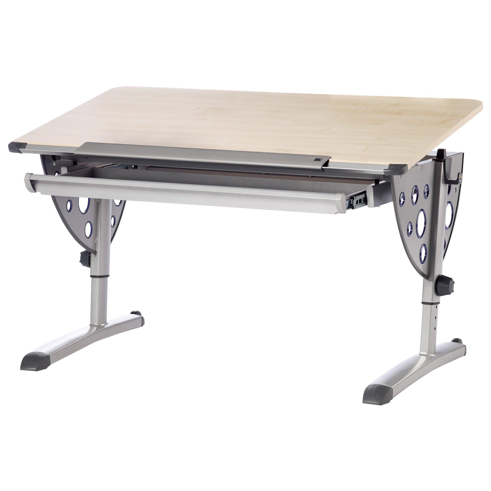 Kettler Logo Fun Desk, Silver/Maple