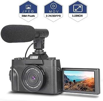 Nycetek 30MP Ultra 2.7K HD Video Camera With 3.0