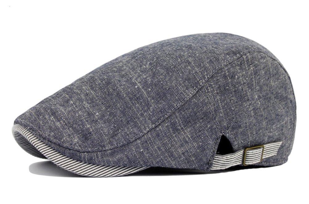 Drawihi Beret, Sonnenhut, Mütze, Schiebermütze, Kappe, Fahrermütze, Blau Mütze Schiebermütze Fahrermütze