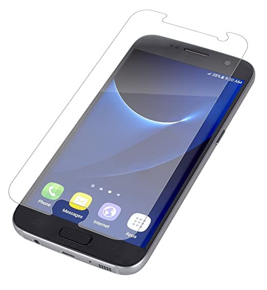 buy online 34e30 16c75 ZAGG InvisibleShield HD Case Friendly Film Screen Protector for Samsung  Galaxy S7