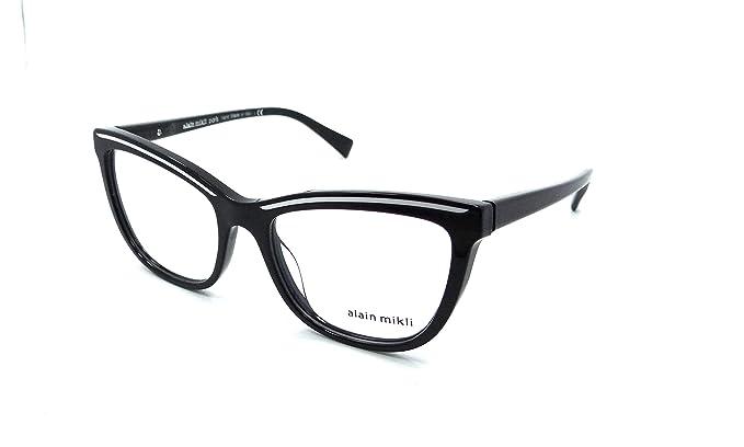 b2e77be5a0a Alain Mikli - Monture de lunettes - Femme Noir Noir Taille unique ...