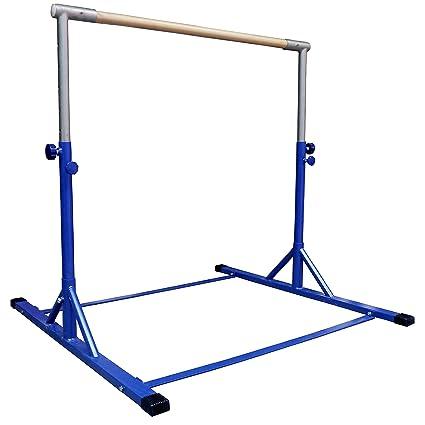 d14b53845d27 Amazon.com : Z-Athletic Gymnastics Expandable Kip Bar (Blue ...