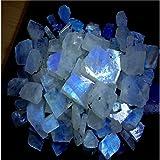 Radhey Krishna Gems 51CTS. Lotto all' ingrosso naturale pietra di luna arcobaleno Rough Specimen preziosa cabochon