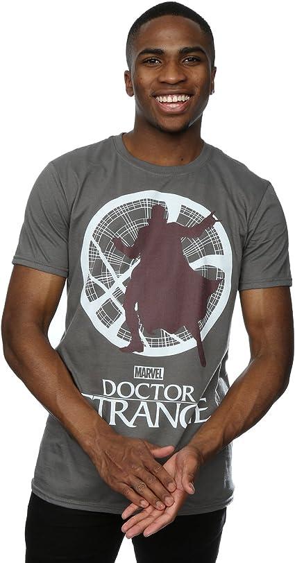 Marvel hombre Doctor Strange Silhouette Camiseta: Amazon.es: Ropa y accesorios