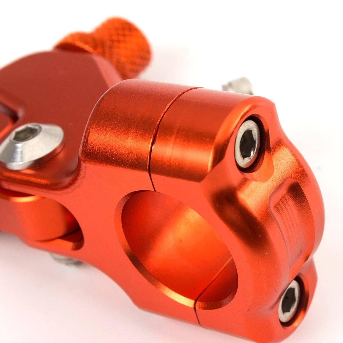 CNC Aluminum Universal Performance Stunt Clutch Lever Mount Bracket Anodized for Honda CBR300R 2014-2016, CBR250R 2011-2013, CB500X 2013-2016, CBR600RR 2007-2015, NC700 S/X, NC750 S/X, GROM, X11 by Rzmmotor (Image #8)