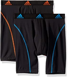 376f602bd5 adidas Men s Sport Performance Climalite 9-Inch Midway Underwear (Pack of 2)