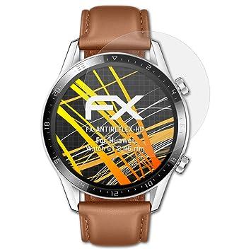atFoliX Protector Película Compatible con Huawei Watch GT 2 ...