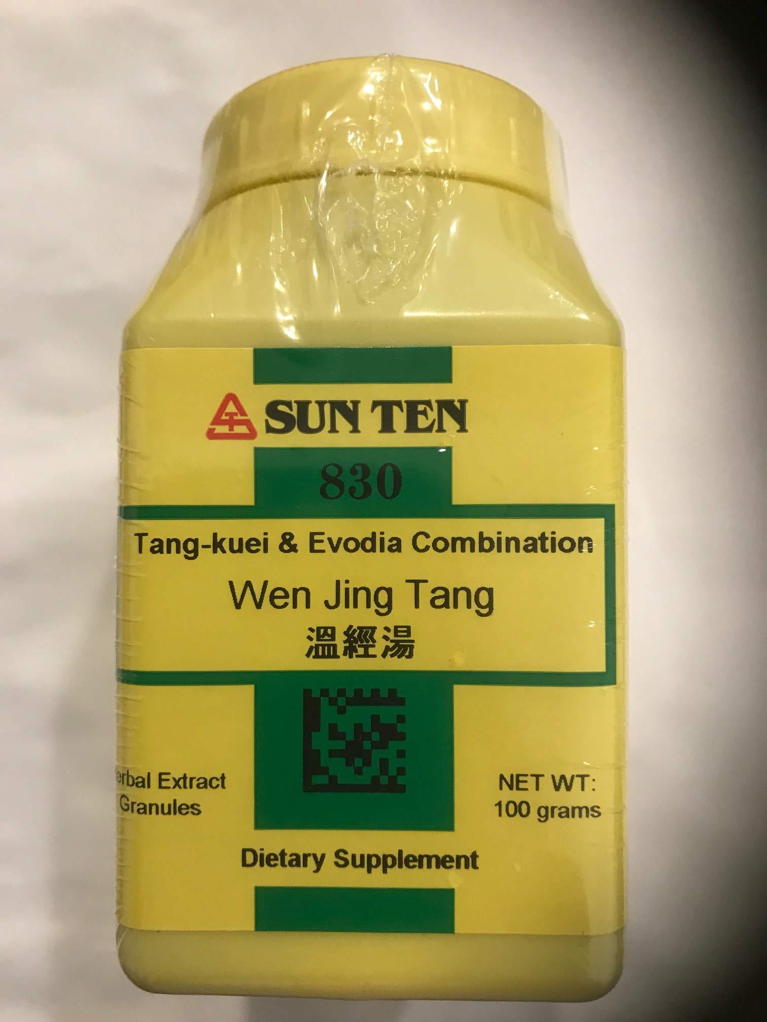Sun Ten - Tang-kuei & Evodia Combination 100gm Granule,Wen Jing Tang/溫經湯