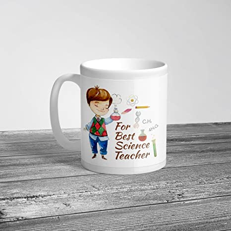 Buy Krazzy Kollections For Best Science Teacher Male Gift Mug
