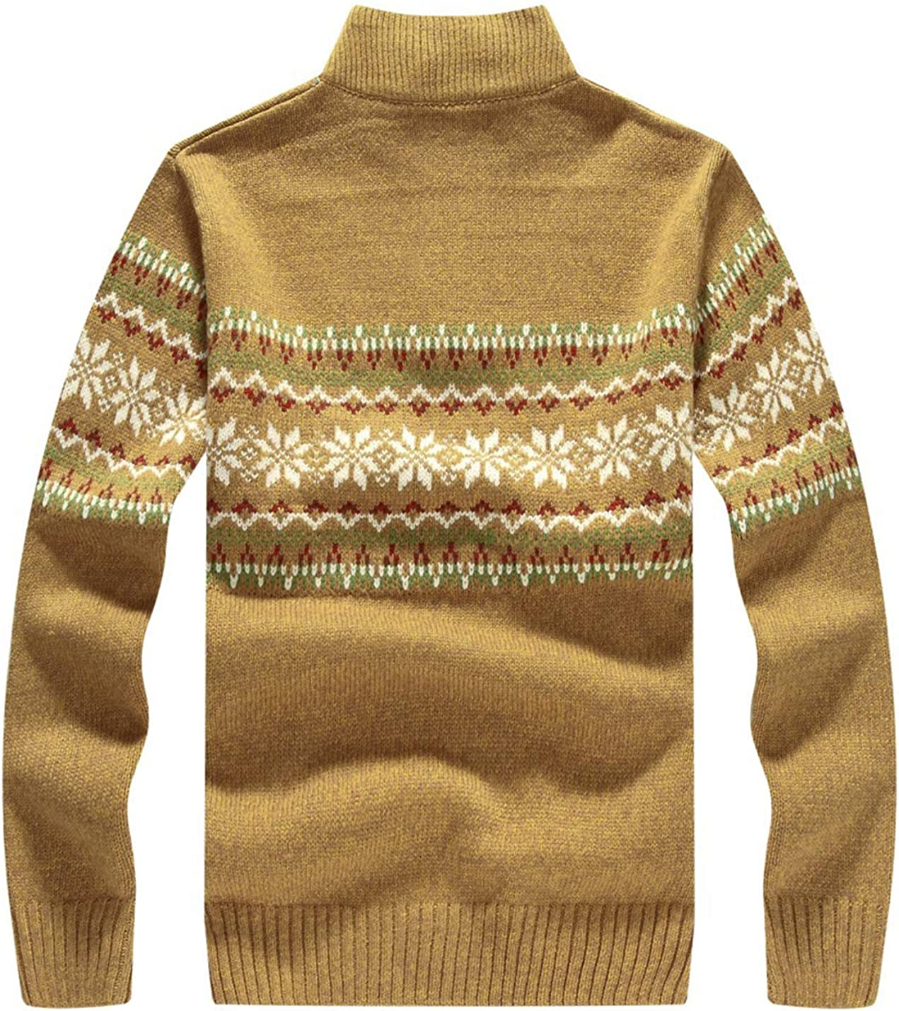 Lentta Mens Casual V-Neck Color Block Twisted Stripe Knitted Pullovers Sweater