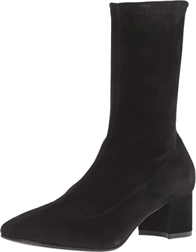 Janine Stretch Suede Ankle Boot | Ankle