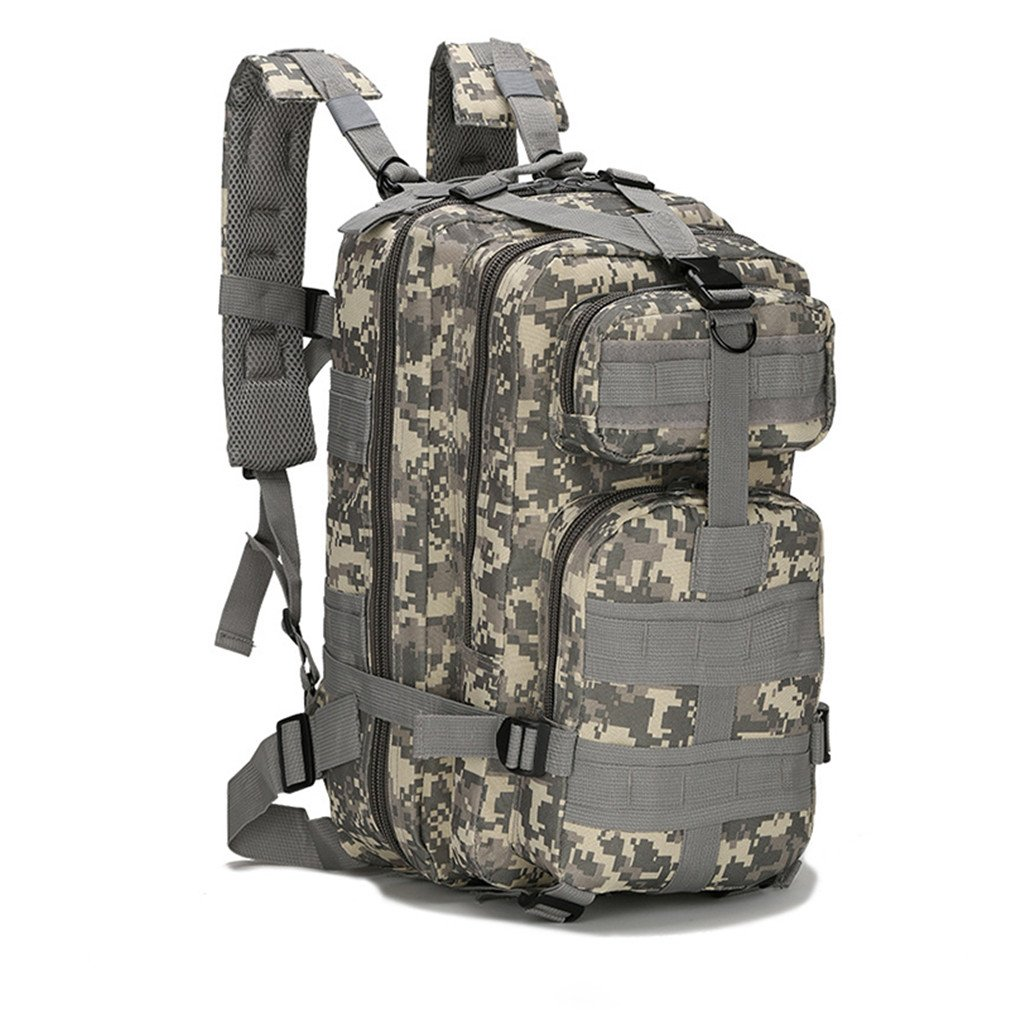 b1314dc274d4 Amazon.com : KEXKL Army Men Women Outdoor Backpack Camping Hiking ...