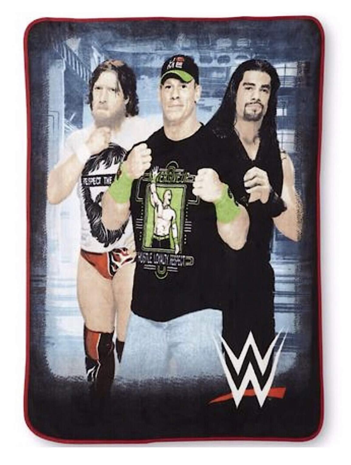 WWE Micro Raschel Blanket Throw Blanket by WWE Kids