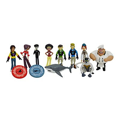 Wild Kratts Toys 10-Pack Action Figure Gift Set: Toys & Games