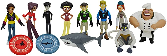 ZDLGMTD Wild Kratts Suitable for The New air13 air13 touch13 touch15 Scratch-Resistant and wear-Resistant MacBook Air Laptop Protective Shell
