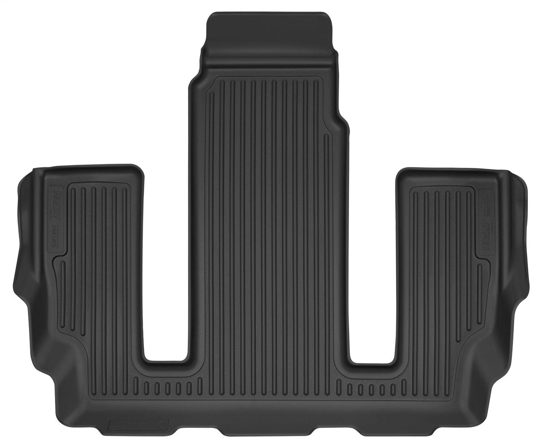 Husky Liners 52711 Black Floor Liner Fits 17-18 Acadia 2nd Row Bucket Seats