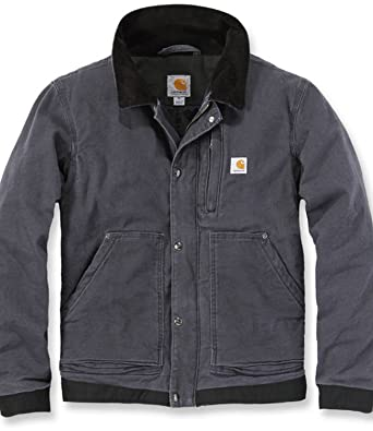 39a0a22444 Carhartt Men's Sandstone Full Swing Caldwell Workwear Jacket: Amazon.co.uk:  Welcome